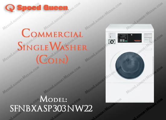Commercial Single Washer (COIN)